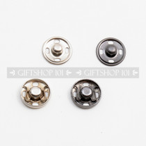 Sew-on Snaps - Metal - 15 mm