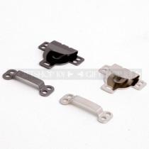 Hook & Eye Flat Style - Metal - 18 mm - Nickel Plate