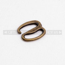 Color Plated 14mm Metal Clothing S Shaped Secure Latch Hook