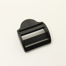 Strap Adjusters - Plastic - 1.25 Inch - Black