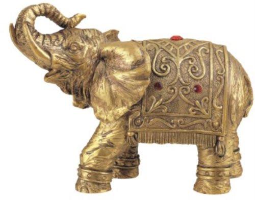 Thai Elephant Buddha Buddhist Collectible Statue Figurine Decoration