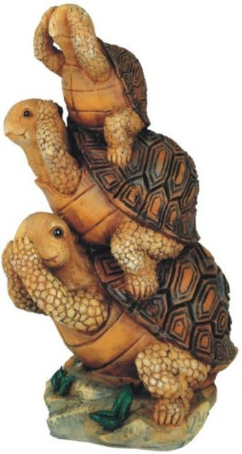 Turtle Hear See Speak No Evil Collectible Garden Decoration Figurine