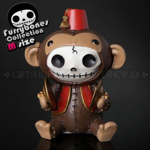 "Furry Bones Fez Munky Monkey Figurine 3.75"""