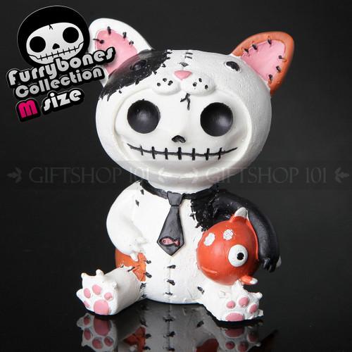 """Furry Bones Calico Mao Mao Cat Figurine 3.75"""""""