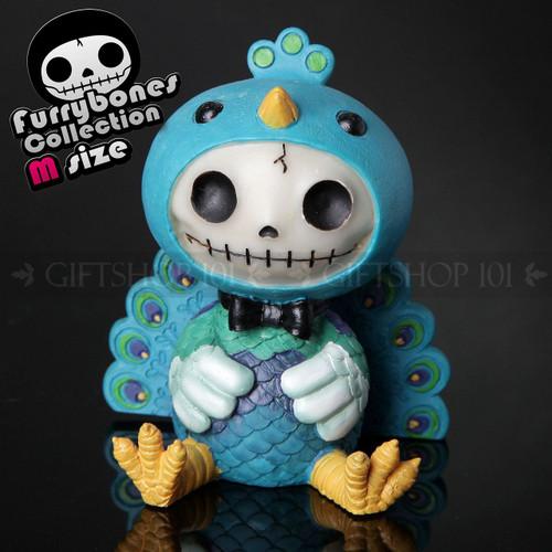 "Furry Bones Peacock Dandy Figurine 3.75"""