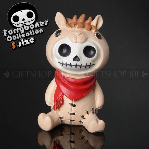 "Furry Bones Mel on a cow moscot 2.75"""