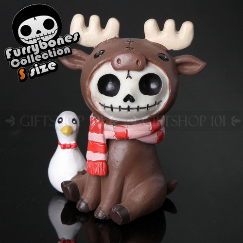 """Furry Bones Spruce with Scarf and Duck Bowling Ball 3"""""""