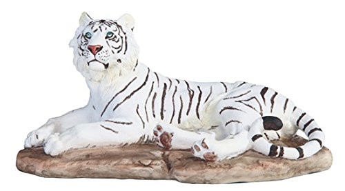 "9"" White Tiger for House and Kitchen Decoration and Display"