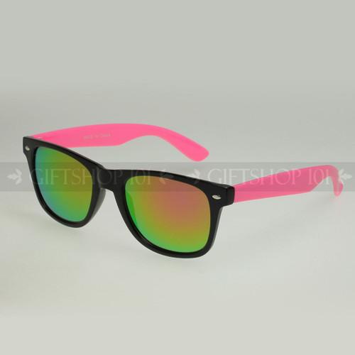 Retro Square Shape Mirror Lens Color Fashion Sunglasses 61TTARV  Pink