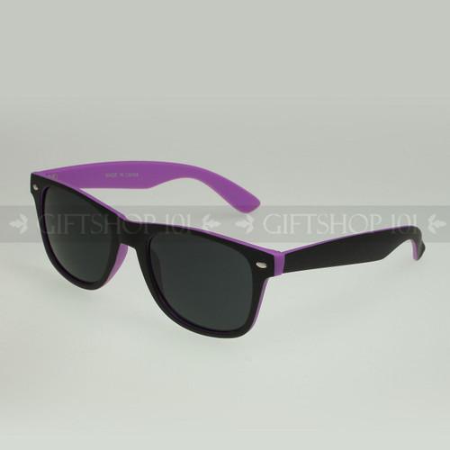 Retro Square Shape Color Frame Fashion Sunglasses 61TTBST Purple