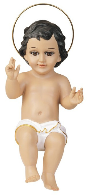 16 Inch Baby Jesus With Glass Eyes Holy Religious Figurine Decoration - 316.94