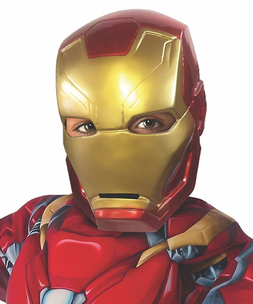 Captain America-Civil War Kid's Iron Man Half Mask
