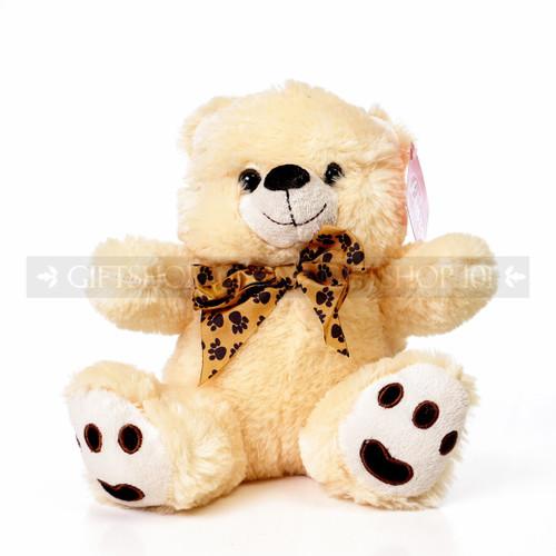 "9.5"" Caramel Bear Soft Plush Toy Stuffed Animal - Beige - Image 1"