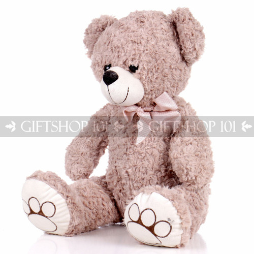 "14.5"" Horace Bear Soft Plush Toy Stuffed Animal - Light Brown - Image 2"