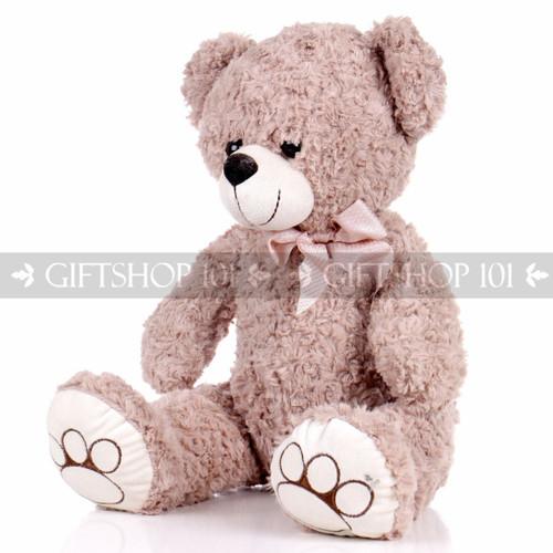 "14.5"" Horace Bear Soft Plush Toy Stuffed Animal - Light Brown - Image 2"