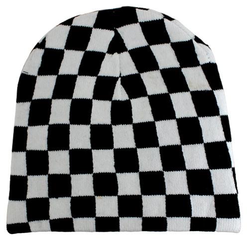 Winter Beanie - Checkboard