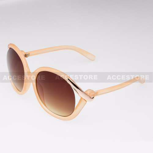 Butterfly Shape Fashion Designer Sunglasses 80632 - Pink