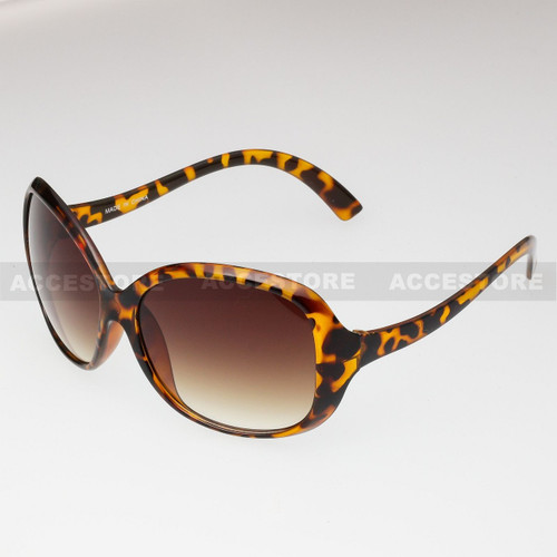 Butterfly Shape Retro Fashion Sunglasses 80429 - Brown