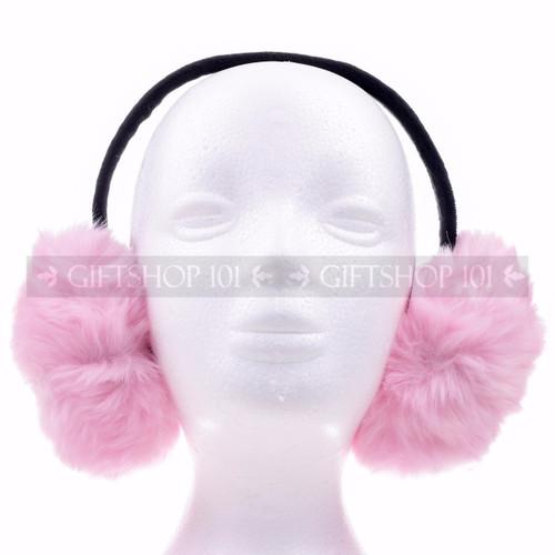 Muffs Ear Warmer - Baby Pink