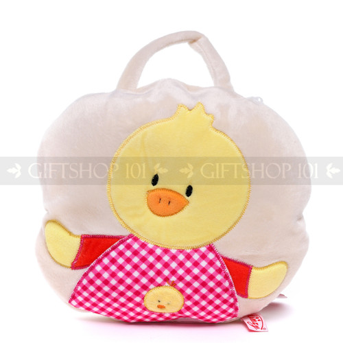 "9"" Baby 2-in-1 Travel Blanket and Pillow - Duck (Pillow)"