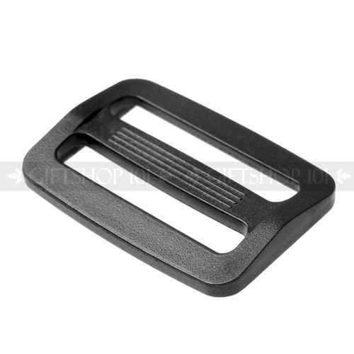 Slides - Plastic - 1.25 Inch - Black (10PCS)