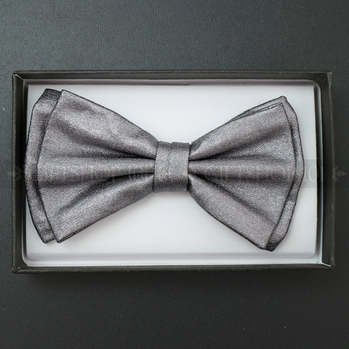 Bow Tie - Metallic Gray