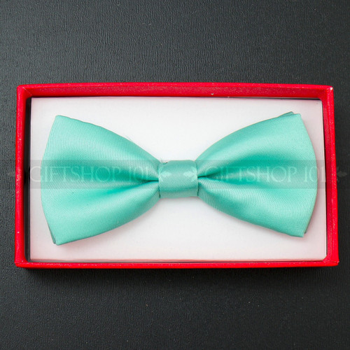 Kid's Bow Tie - Teal Green