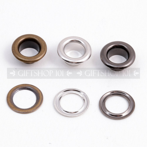 Eyelet & Washer - Metal - 10 mm