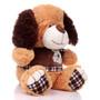 """11"""" Amelia Dog with Shirt - Brown (Side)"""