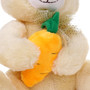 "10"" Bunny with Carrot - Yellow (Detail)"