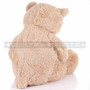 "24"" Giant Coffee Colored Teddy Bear Plush- Back"