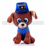 "8"" First Responder Police Dog Plush - Blue"