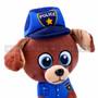 "8"" First Responder Police Dog Plush - Blue (Detail)"