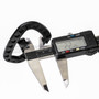 Carabiner Durable - Plastic - 2.25 inch - Black (10PCS)