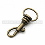 Bolt Snaps - Metal - 1 Inch - Antique Brass