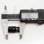 Cord Lock w/ Dual Slide - Plastic - 0.3 Inch/ 8 mm - Black
