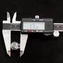 Cord Lock Ball Shape - Plastic - 6 mm - Clear