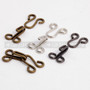 Two Piece 25mm Metal Wired Clothing Latch Hook Clip