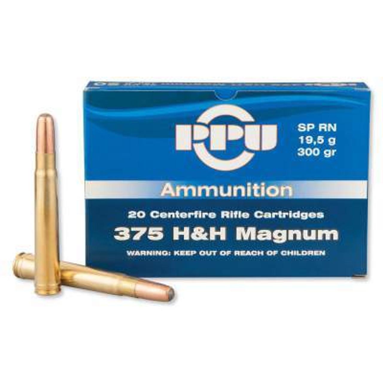 375 H&H Ammo