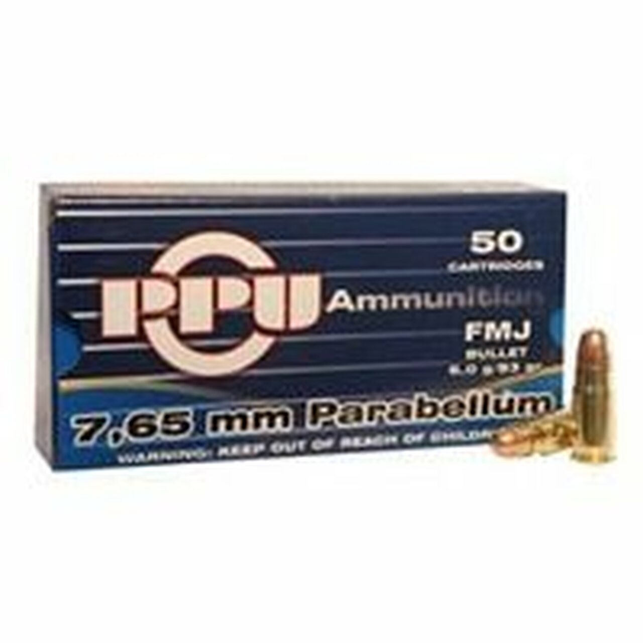 30 Luger Ammo