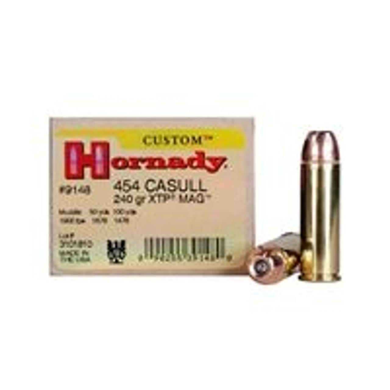 454 Casull Ammo
