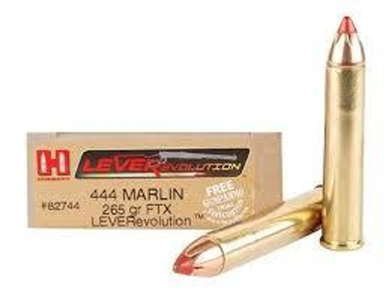 444 Marlin Ammo
