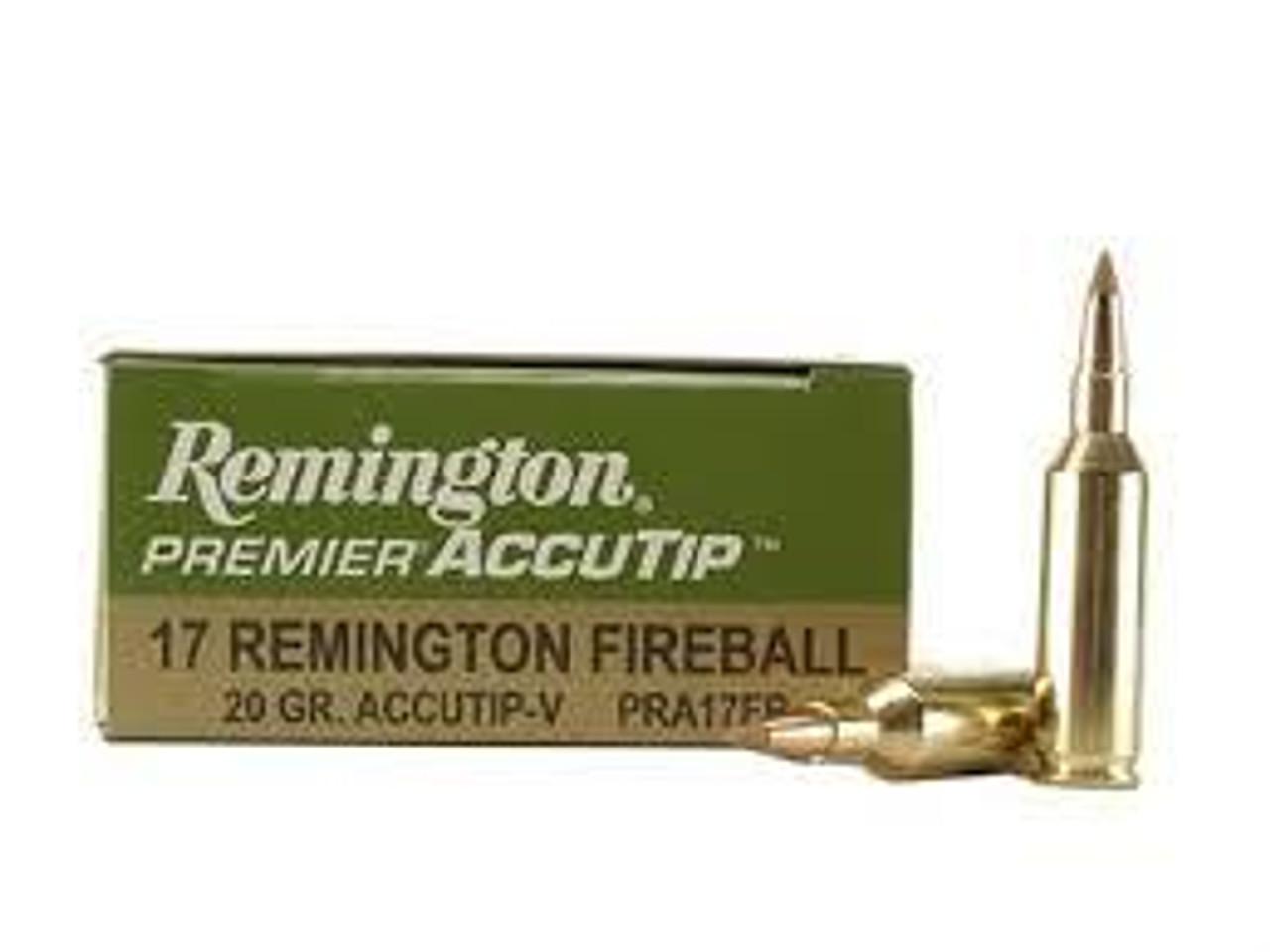 17 Rem Fireball Ammo