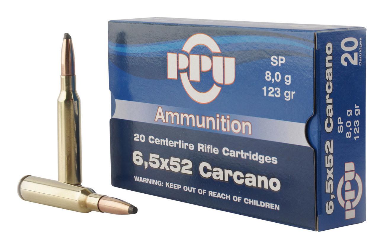6.5x52mm Carcano Ammo