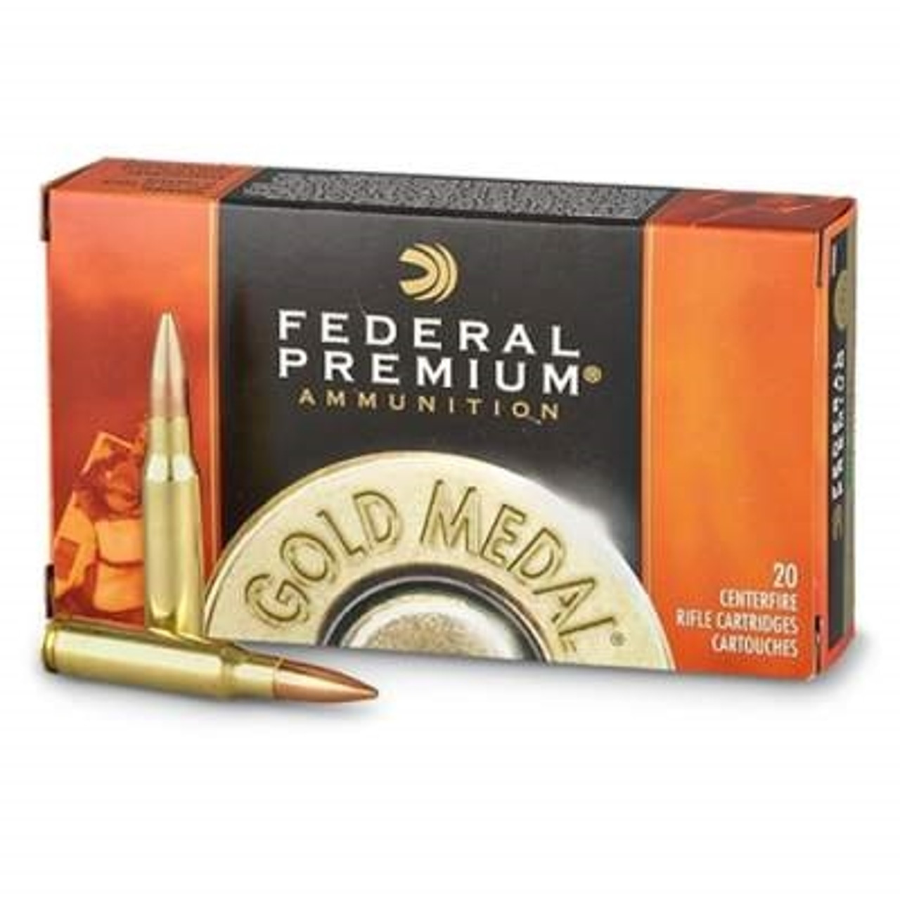 Federal 300 Win Mag Gold Medal GM300WM 190 gr Sierra Matchking BTHP Match  20 rounds