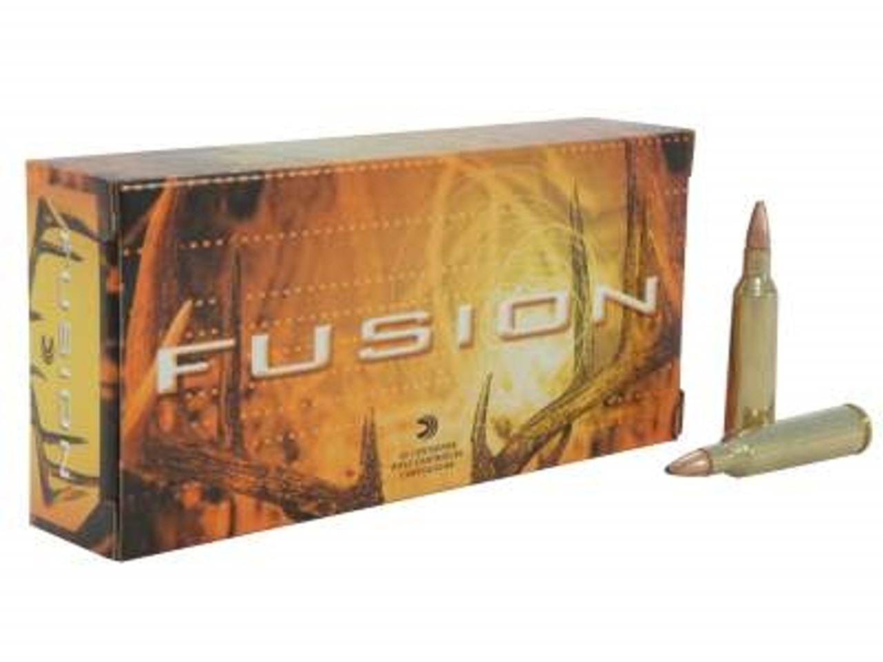 Federal 22-250 Ammunition Fusion F22250FS1 55 Grain Fusion Soft Point 20  Rounds
