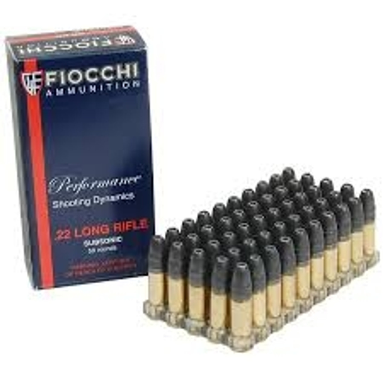 Fiocchi 22LR Subsonic HP, 22FHPSUB, 40 gr, HP 50 rounds