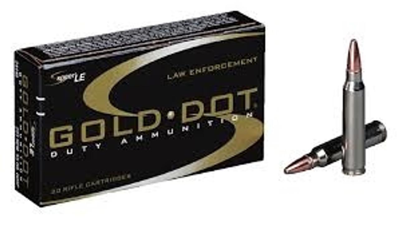 CCI 223 Remington Speer Gold Dot CCI24475 75 gr GDSP 20 rounds