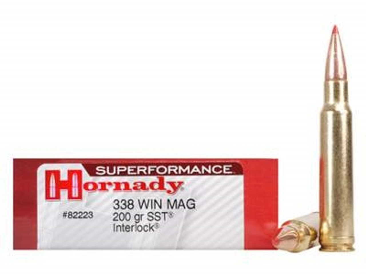 Hornady 338 Win Mag Superformance H82223 200 gr SST 20 rounds