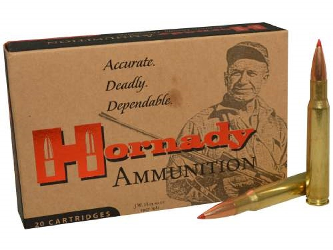 Hornady 30-06 M1 Garand Ammunition Custom H81171 168 Grain ELD Match 20  rounds